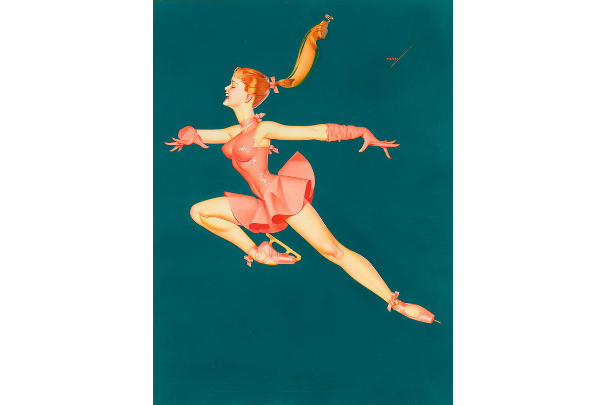 George Petty - The Ballerina