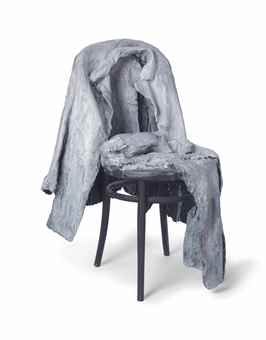 George Segal-Jacket, Pants on Chair-1988