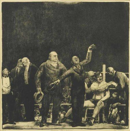 George Bellows-Introducing John L. Sullivan-1916