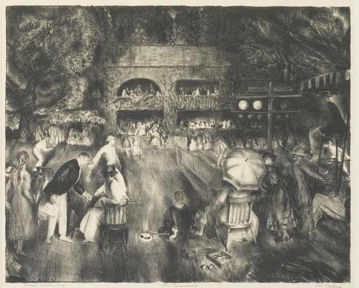George Bellows-The Tournament-1920