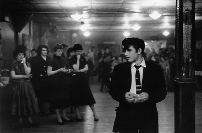 George Zimbel - Irish Dancehall, The Bronx N.Y., 1954