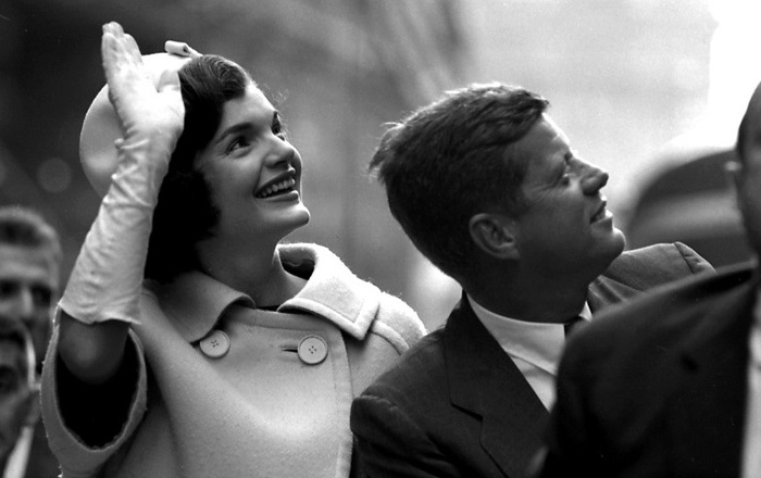 George Zimbel - Jacqueline and John F. Kennedy, N.Y.C., 1960