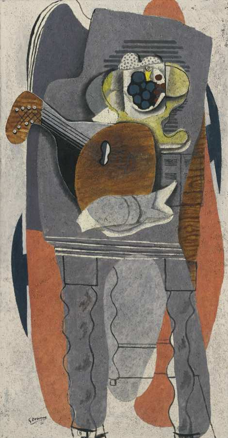 Georges Braque-La Table Grise-1930