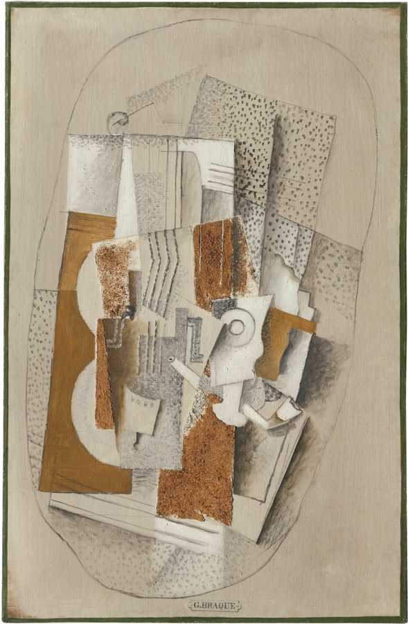 Georges Braque-Le Violon-1914