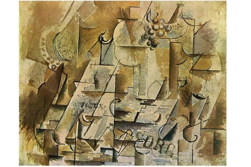 Georges Braque can be seen as a famous still life artist who painted in cubist style