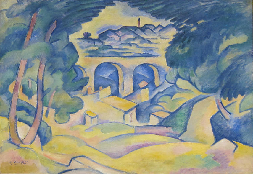 His modern work reflects his early life in Paris 1907