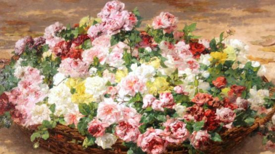 Georges Jeannin - A Still Life Of Roses (detail), photo credits - The Englishman USA