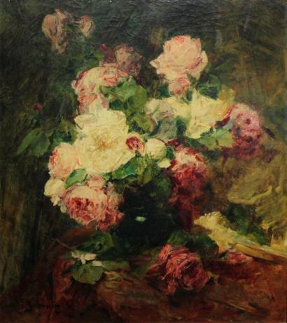 Georges Jeannin-Bouquet de Roses-1899