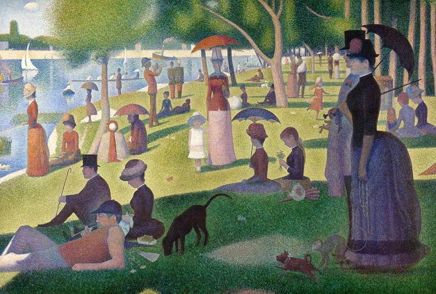 Georges Seurat – A Sunday on La Grande Jatte