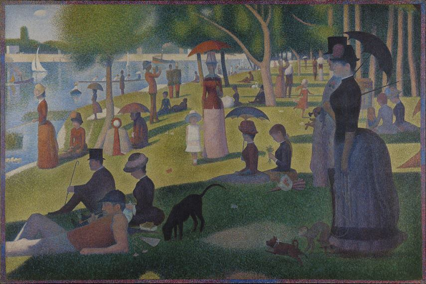 Georges Seurat - A Sunday Afternoon on the Island of La Grande Jatte