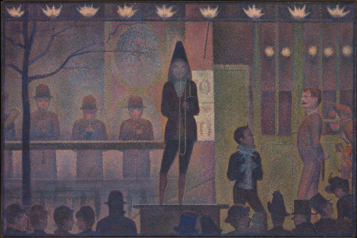 Georges Seurat - Parade de cirque