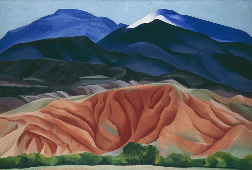 get updates on the latest exhibitions of american masters like georgia o'keeffe