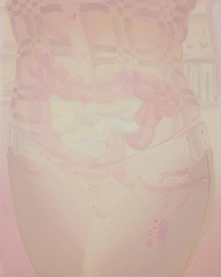 Gerald Davis-Linsey's Poo (Pink + Brown)-2005