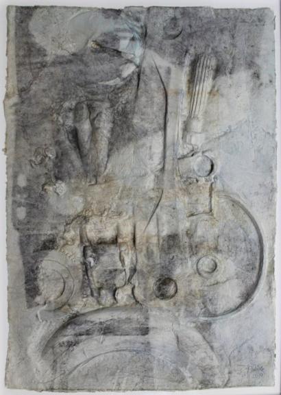 Gerard Renvez-Abstract Composition-2010