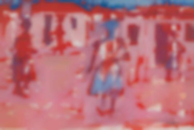 Gerard Sekoto - Women In A Township: Study In Pink-