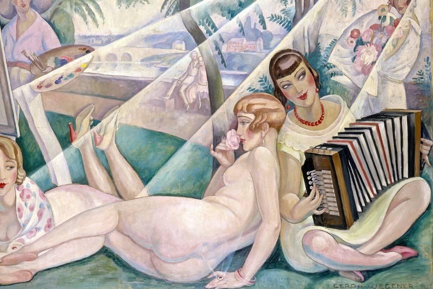 Gerda Wegener lili danish girl elbe