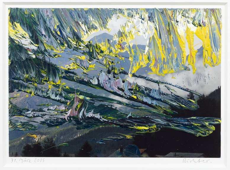 Gerhard Richter, 31 Marz 2015