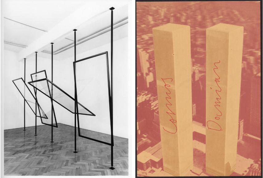 Gerhard Richter - 4 Panes of Glass, 1967 / Joseph Beuys, Cosmas und Damian, 1975