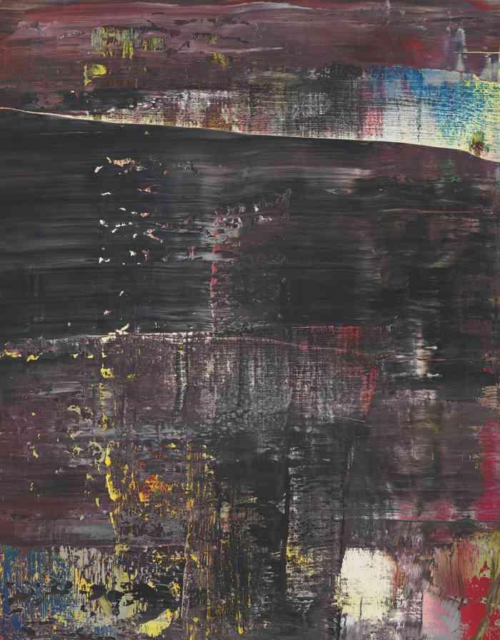 Gerhard Richter-Abstraktes Bild, 21. Nov. 43 (715-5)-1990