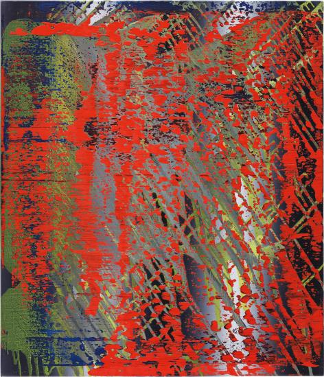 Gerhard Richter-Abstraktes Bild 682-4 (Abstract Painting 682-4)-1988
