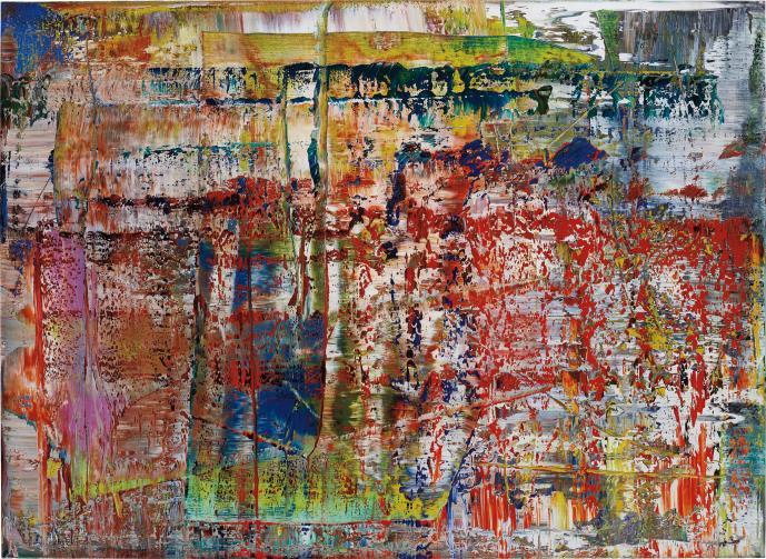 Gerhard Richter-Abstraktes Bild, Cr 724-4 (P1)-2014