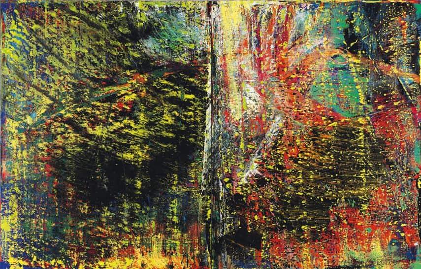 Gerhard Richter - Abstraktest Bild, 1987