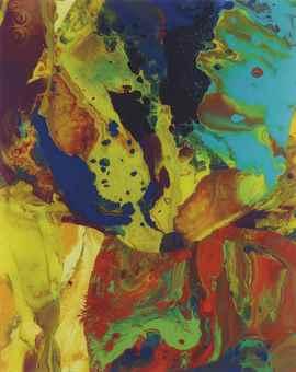 Gerhard Richter-Bagdad I (P9)-2014
