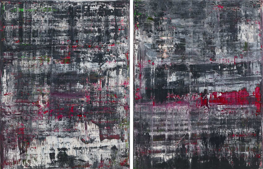 Gerhard Richter is active on facebook, where he posts news and photographs
