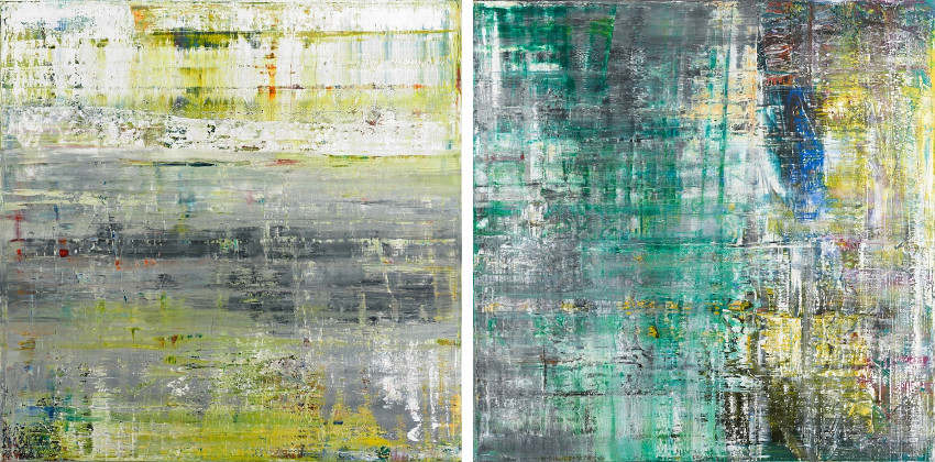 Gerhard Richter is often featured in the news where they show his latest photographs