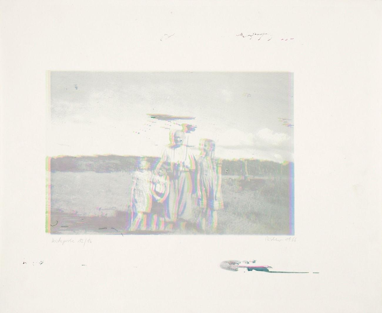 Gerhard Richter-Familie-1966