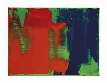 Gerhard Richter-Grun-Blau-Rot (Edition fur Parkett) ((Green-Blue-Red) Edition for Parkett)-1993