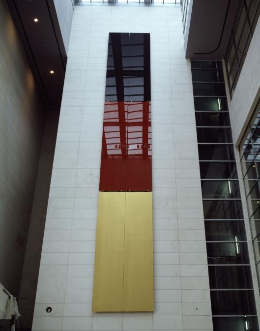 Gerhard Richter - Schwarz, Rot, Gold (Black, Red, Gold), 1999
