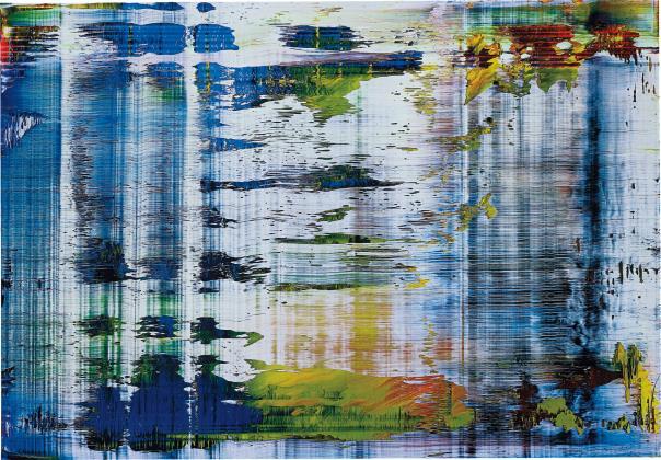 Gerhard Richter-Untitled (Abstraktes Bild 858-4)-2006
