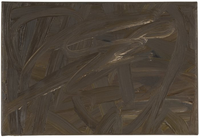 Gerhard Richter-Vermalung (Braun)-1972