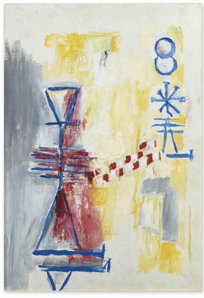Germaine Richier-Composition 4-1958