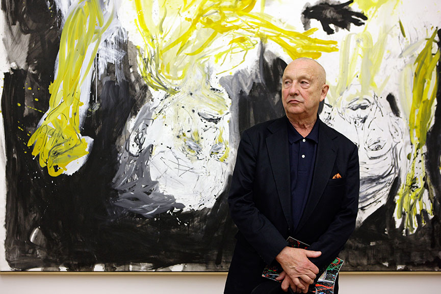 georg baselitz, german museum, german cultural protection law
