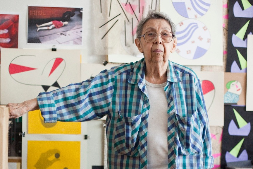 Geta Brătescu, courtesy of the artist, Ivan Gallery Bucharest Hauser Wirth