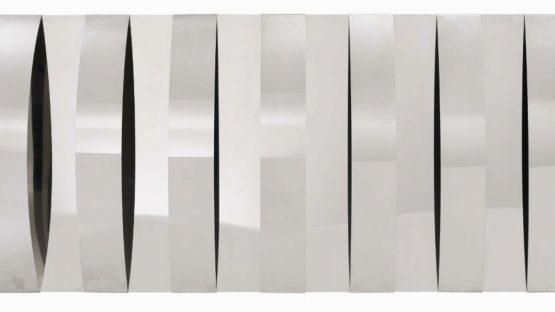 Getulio Alviani - Rilievo a elementi curvi (Relief to curved elements), 1962 - Copyright Getulio Alvaini