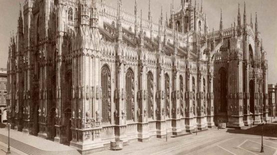 Giacomo Brogi - 4588 - Milano - La cattedrale(detail)
