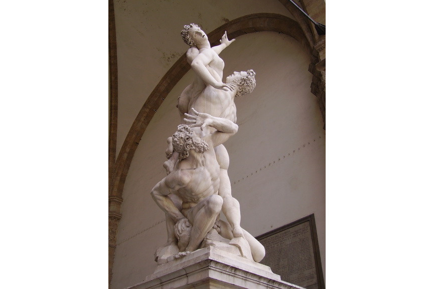 Giambologna - The rape of the Sabine Women