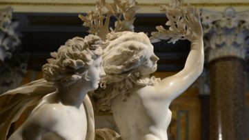 Gian Lorenzo Bernini - Apollo and Daphne (detail), 1622-25
