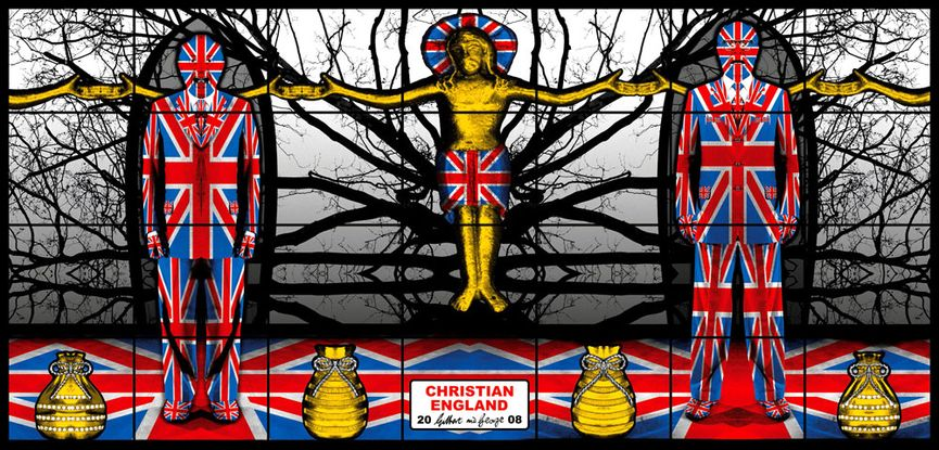 Gilbert & George - Christian England, 2008