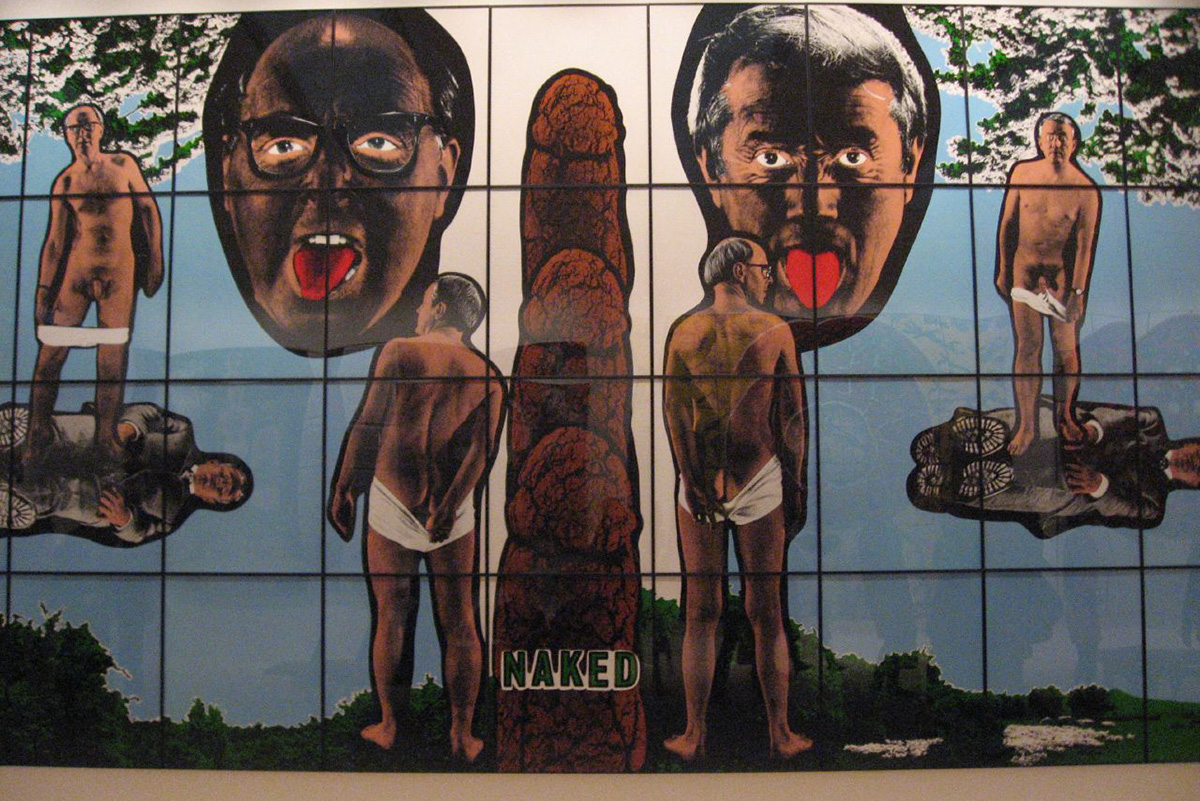 Gilbert & George Retrospective, Tate Modern by Kirsteen via Flick
