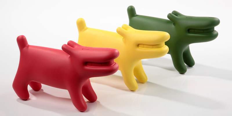 Gilbert Petit - Doog sculptures