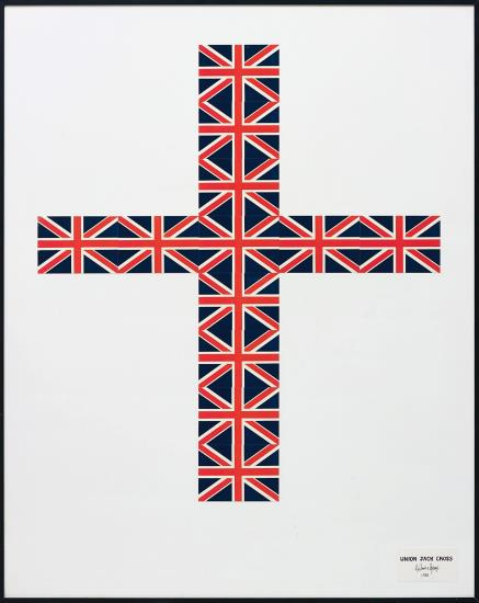 Gilbert and George-Union Jack Cross-1981