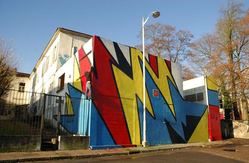 Gilbert1 – Mural in Nancy, France