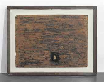 Gilberto Zorio-Per Parlare in un Muro di Gres-1968