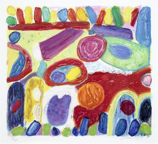 Gillian Ayres-Pheasant Tail-1999