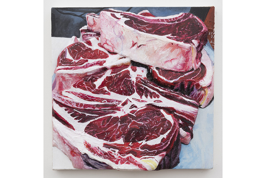 Gina Beavers - Local Pasteurized Beef, 2014