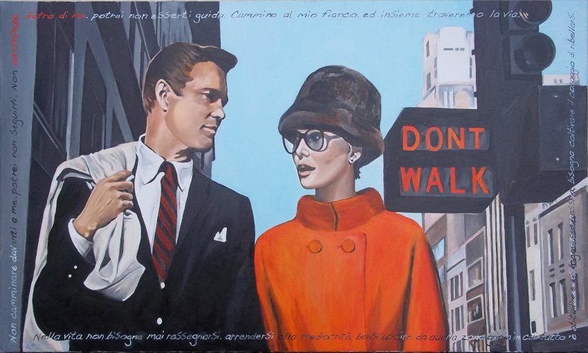 Gio Stefan - Audrey and George down the street, 2013